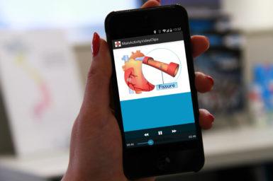 Smart phone app life-saver